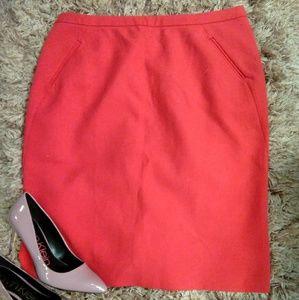 LOFT sexy bright pink pencil skirt!